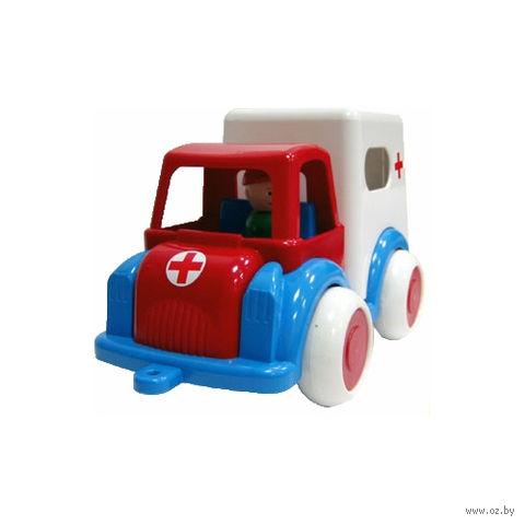 """Машинка """"Скорая помощь"""" (арт. С-61-Ф) — фото, картинка"""