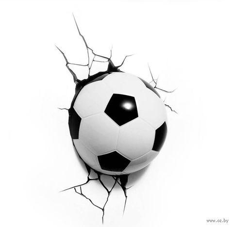 Декоративный светильник - Футбольный мяч
