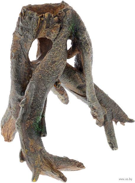 """Декорация для аквариума """"Коряга"""" (12х8,5х12 см) — фото, картинка"""