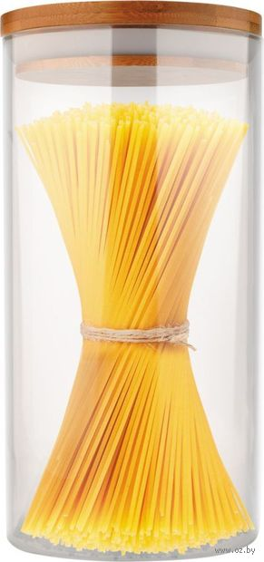 "Банка стеклянная ""Bambu"" (1,3 л) — фото, картинка"