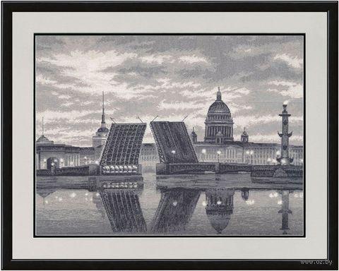 "Вышивка крестом ""Санкт-Петербург"" (428х567 мм) — фото, картинка"
