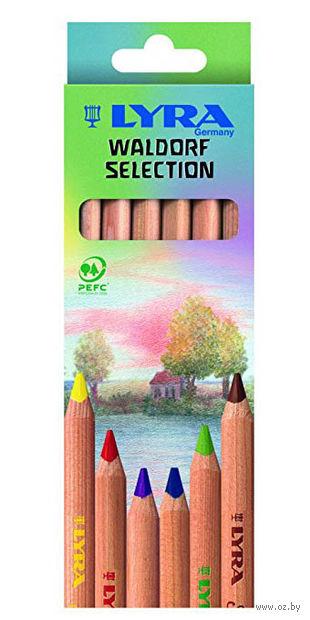 "Набор карандашей цветных ""Super Ferby Nature Waldorf"" (6 цветов)"