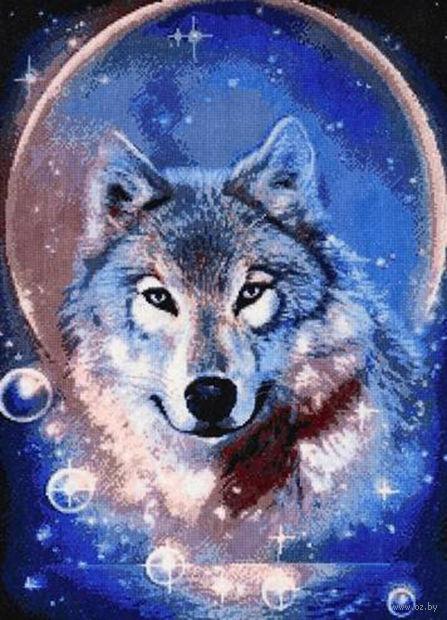 """Вышивка крестом """"Дух волка"""""""