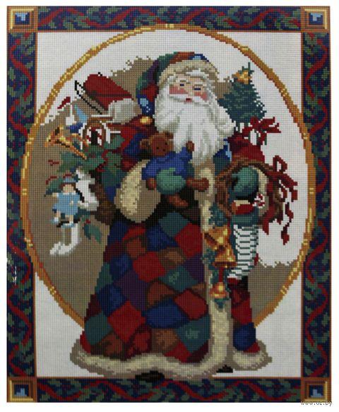 "Алмазная вышивка-мозаика ""Санта Клаус"" (400x500 мм) — фото, картинка"