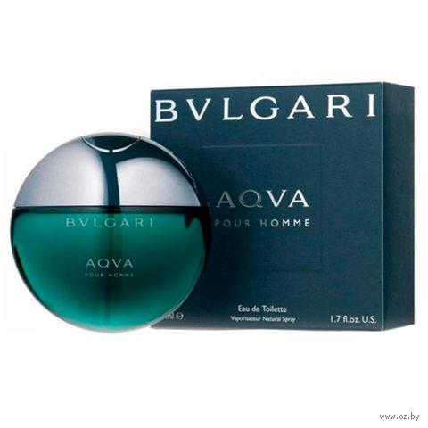 "Туалетная вода для мужчин Bvlgari ""Aqva"" (50 мл) — фото, картинка"