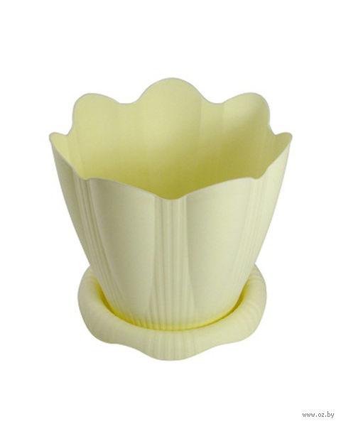 """Цветочный горшок """"Эдельвейс"""" (12 см; арт. С190К) — фото, картинка"""