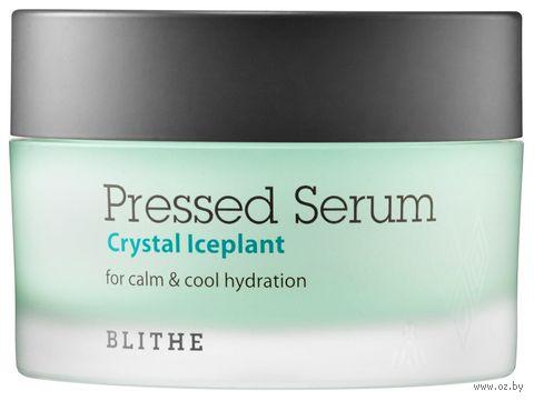"Сыворотка для лица ""Pressed Serum Crystal Ice Plant"" (50 мл) — фото, картинка"
