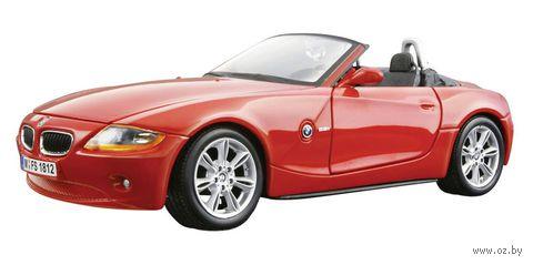 "Модель машины ""Bburago. BMW Z4"" (масштаб: 1/24)"
