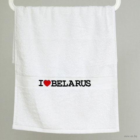 "Полотенце Vitaem ""I LOVE BELARUS"""