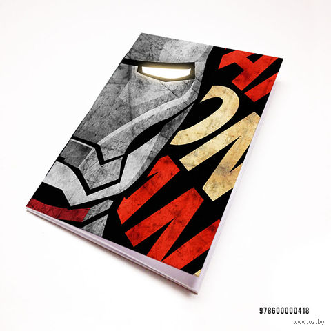 """Блокнот """"MARVEL. Железный человек"""" (А7; арт. 418) — фото, картинка"""