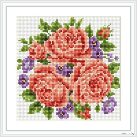"Алмазная вышивка-мозаика ""Цветы"""