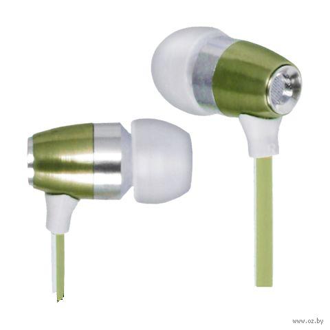 Наушники Defender Comfit 260 (зеленый металлик) — фото, картинка