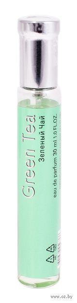 """Парфюмерная вода для женщин """"Зеленый чай"""" (30 мл) — фото, картинка"""