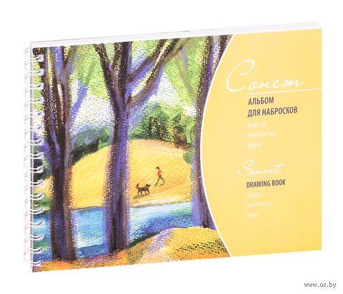 """Альбом для набросков """"Сонет"""" (А4; 50 листов) — фото, картинка"""