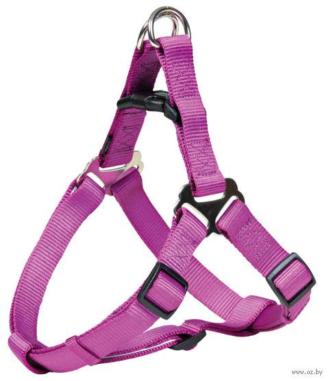 """Шлея для собак """"Premium Harness"""" (размер XS-S; 30-40 см; ягодный)"""