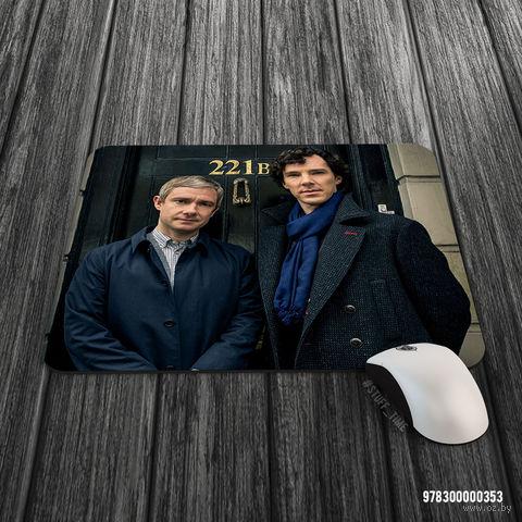 """Коврик для мыши большой """"Шерлок"""" (353)"""