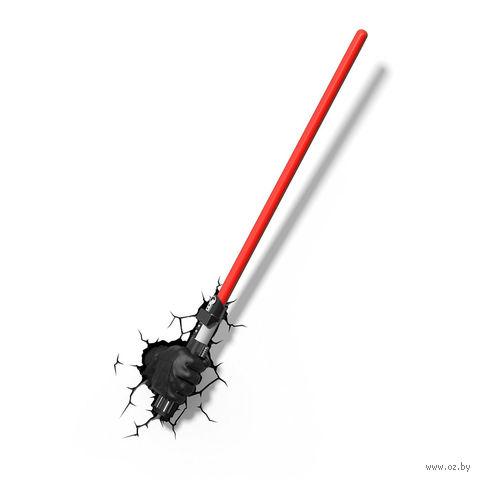 """Декоративный светильник """"Звездные войны. Дарт Вейдер. Световой меч"""" — фото, картинка"""