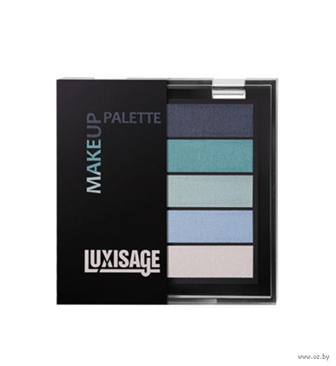 "Тени для век ""Make up palette"" (тон: 2, голубая лагуна)"