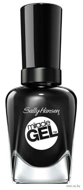 """Гель-лак для ногтей """"Miracle gel"""" (тон: 460, черный) — фото, картинка"""