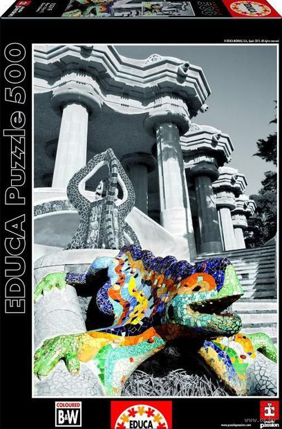"""Пазл """"Парк Гуэль. Барселона"""" (500 элементов) — фото, картинка"""