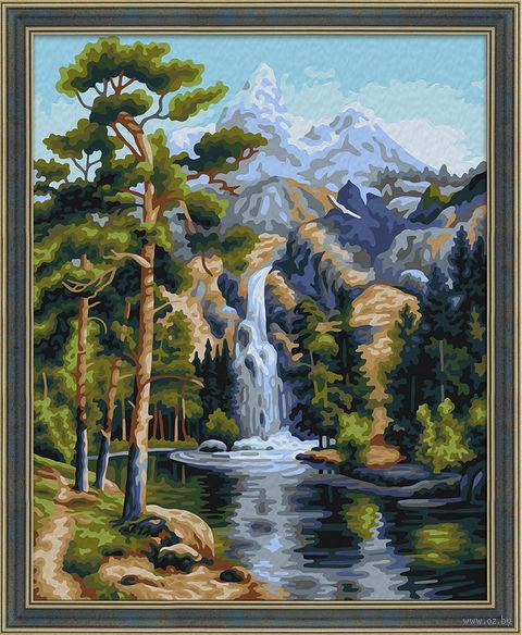 "Картина по номерам ""Горный поток"" (400х500 мм) — фото, картинка"