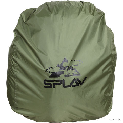 Накидка на рюкзак (M; 40-60 л; олива) — фото, картинка