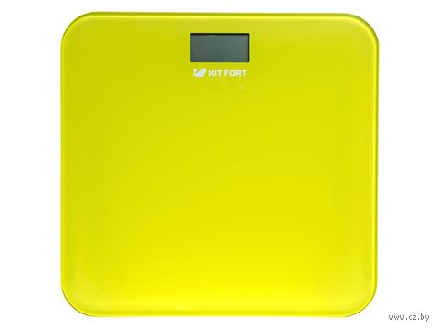 Напольные весы Kitfort КТ-804-4 (желтые) — фото, картинка