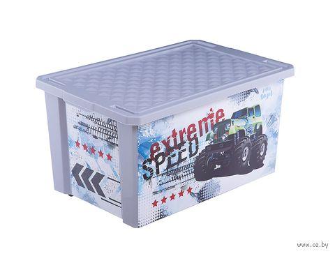 """Ящик для хранения игрушек """"Супер Трак"""" (арт. LA1029) — фото, картинка"""