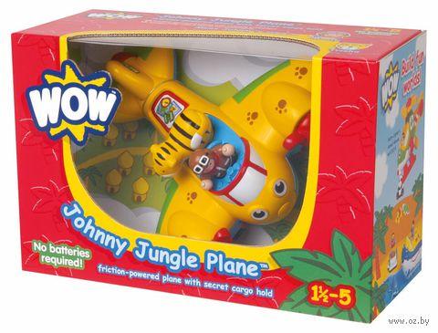 """Игровой набор """"Самолет Джонни - джунгли"""""""