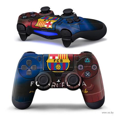 """Наклейка защитная для геймпада """"Barcelona"""" (TN-PS4QB-0006) (PS4)"""