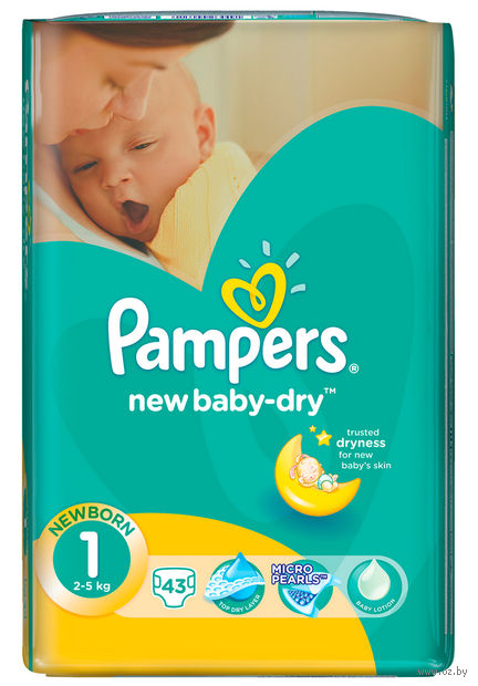 "Подгузники ""Pampers New Baby Newborn"" (2-5 кг, 43 шт)"