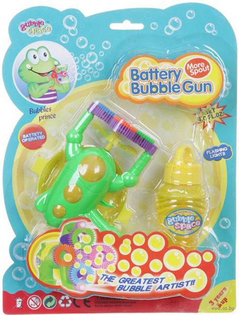 """Игрушка для выдувания мыльных пузырей """"Пистолет"""" (арт. К33848)"""