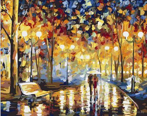 """Картина по номерам """"В дождливый вечер"""" (400х500 мм) — фото, картинка"""