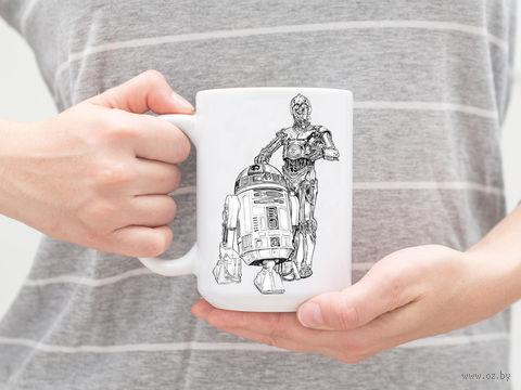 """Кружка """"Звездные войны. R2-D2 и C-3PO"""" — фото, картинка"""