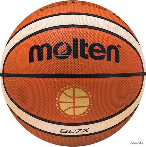 Мяч баскетбольный Molten BGL7X-RFB №7 — фото, картинка