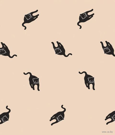 """Простыня хлопковая """"Cats"""" (210х220 см) — фото, картинка"""