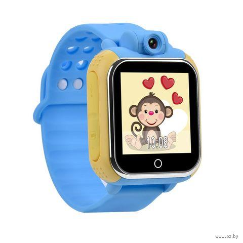 Детские Часы SmartBabyWatch G10 (голубые) — фото, картинка