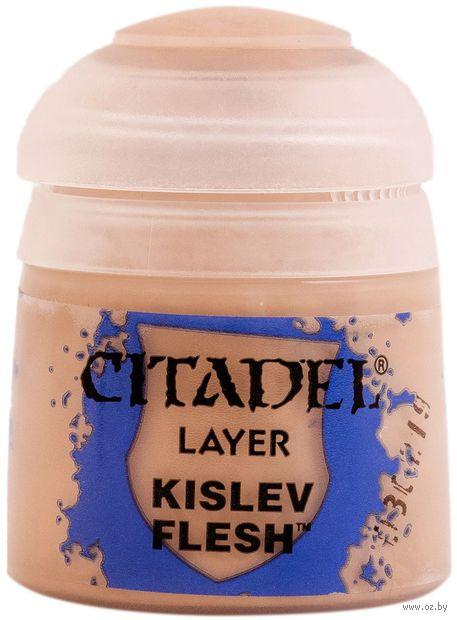 "Краска акриловая ""Citadel Layer"" (kislev flesh; 12 мл) — фото, картинка"
