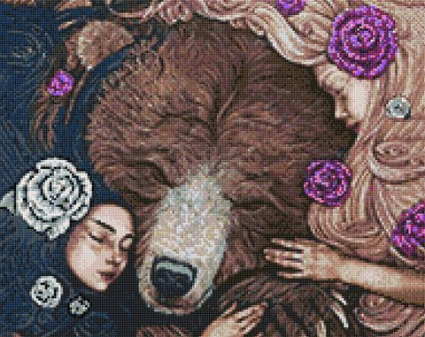 "Алмазная вышивка-мозаика ""Славянские сказки"" (380х480 мм) — фото, картинка"