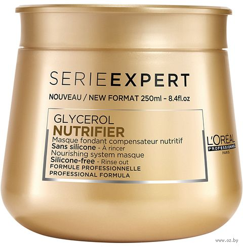 "Маска для волос ""Nutrifier"" (250 мл) — фото, картинка"