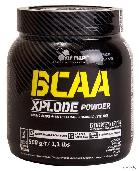"БЦАА ""Xplode Powder"" (500 г; лимон) — фото, картинка"