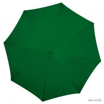 """Зонт-трость """"Nancy"""" (темно-зеленый; d=105 см)"""
