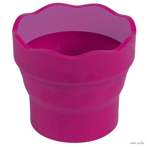 "Стакан для воды ""Clic&CO"" (розовый)"