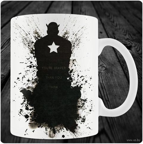 """Кружка """"Капитан Америка"""" (art.8)"""