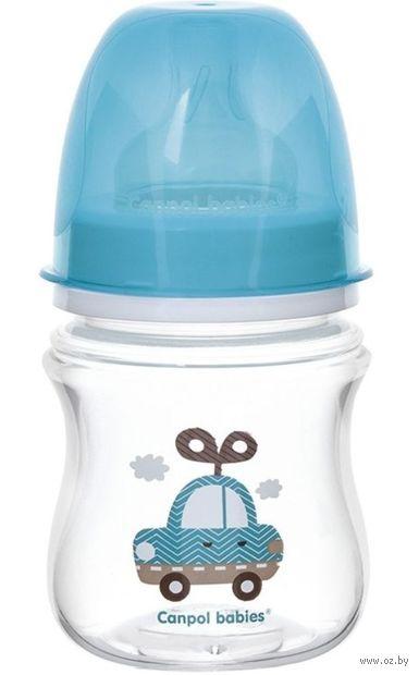 """Бутылочка для кормления """"Игрушки"""" (120 мл; голубая) — фото, картинка"""