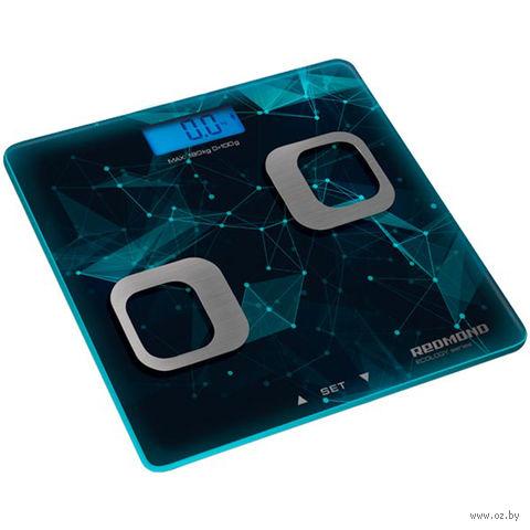 Напольные весы Redmond RS-738 (синие) — фото, картинка