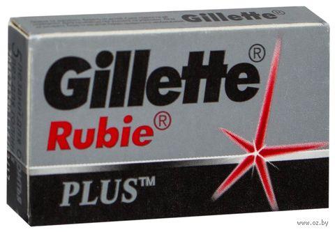 Лезвия Gillette Rubie Platinum Plus (5 шт)