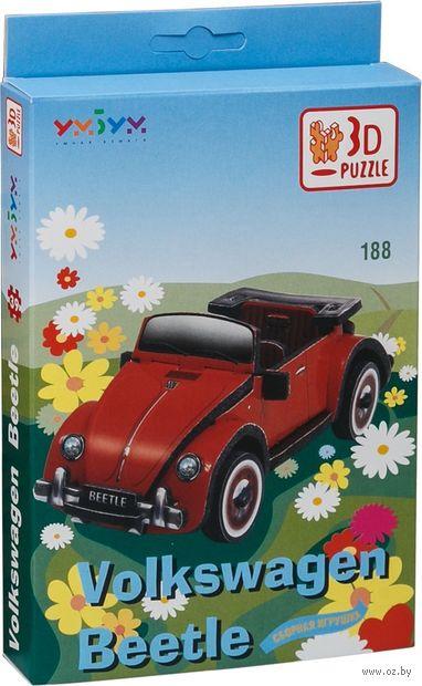 """Сборная модель из картона """"Volkswagen Beetle"""""""
