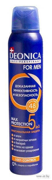 "Антиперспирант для мужчин ""5 Protection"" (спрей; 200 мл)"