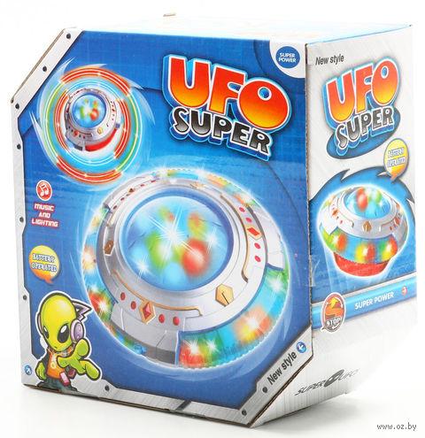 """Музыкальная игрушка """"Летающая тарелка"""" (со световыми эффектами)"""